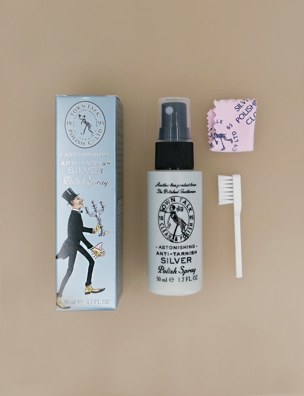 Anti-Tarnish Silver Polishing Spray