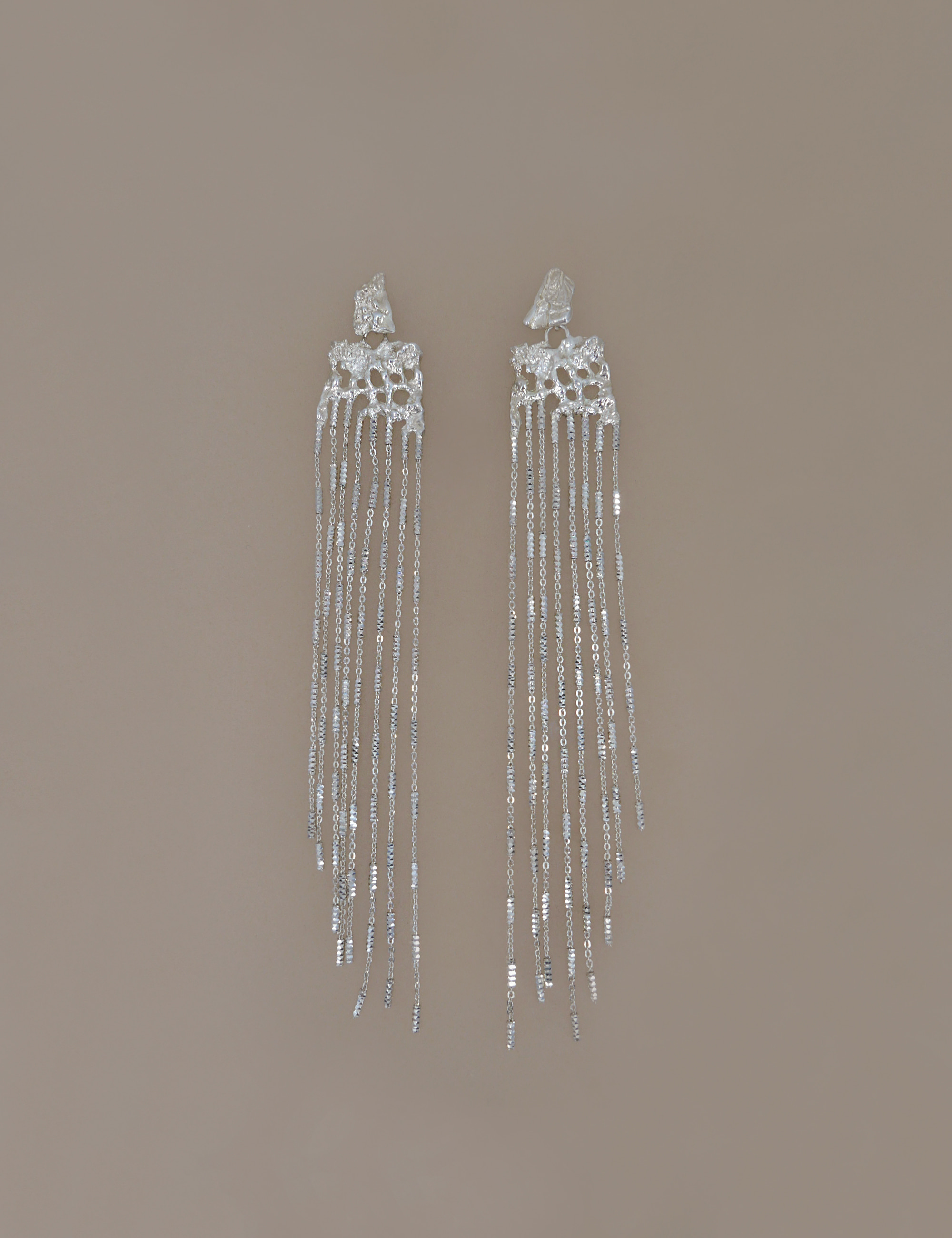 Ancient Chandelier Italian Chain Earring