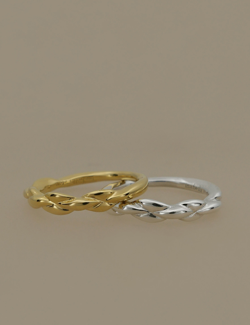 Modern Wave Thin Ring