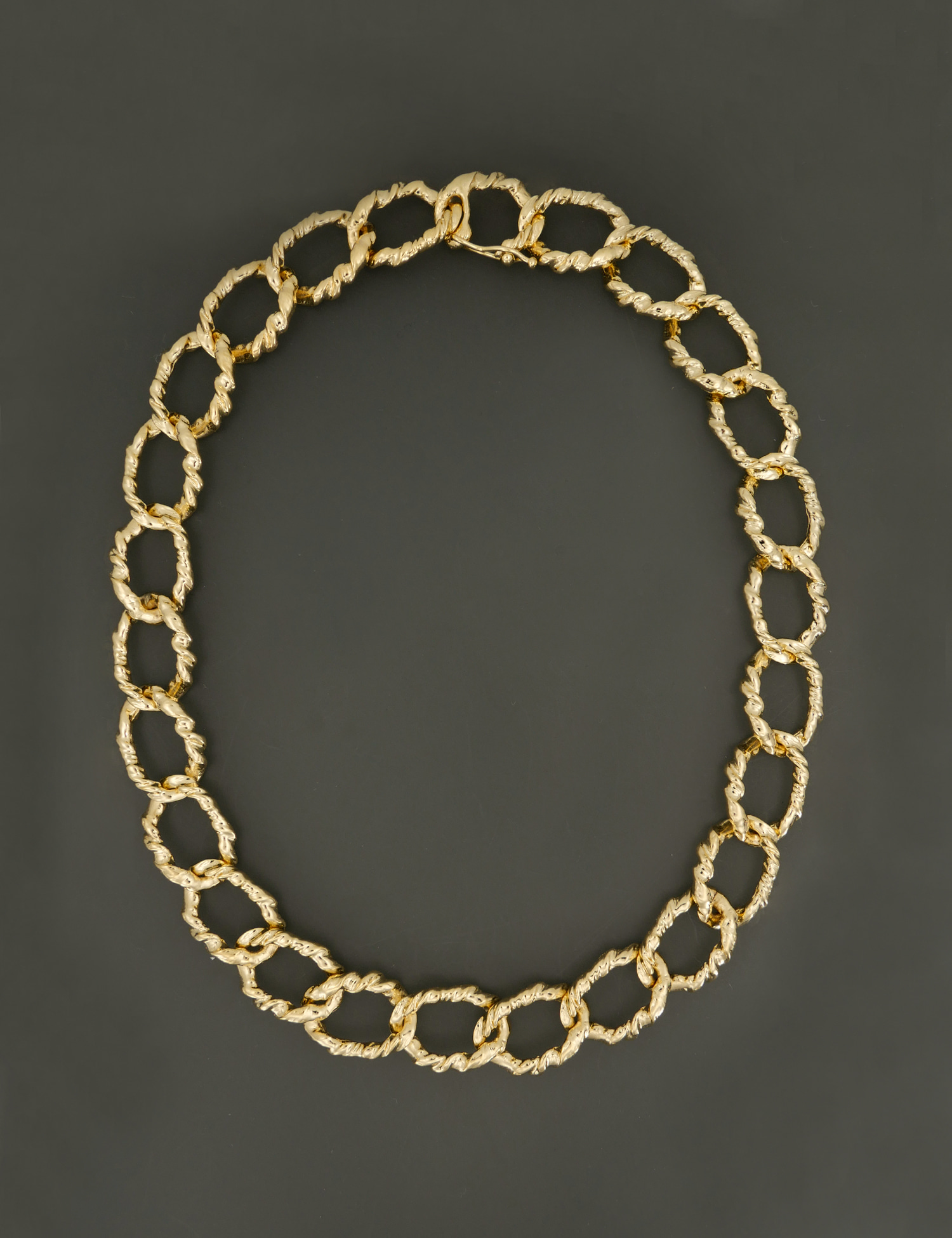 Twist Chain Necklace / Gold